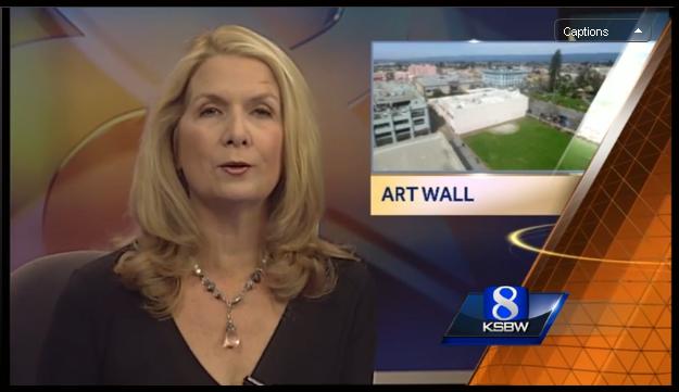 Watsonville Art Wall on KSBW