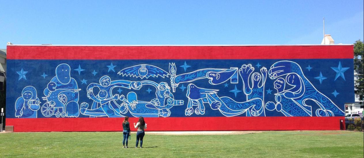 watsonville art  walls mural